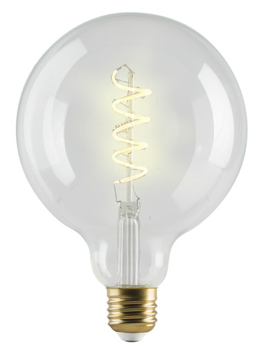Køb e3light Vintage E27 LED dæmpbar globepære – 4W
