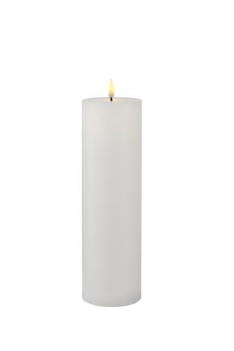 Køb Sirius Sille genopladelig LED bloklys – Ø7,5xH25 cm