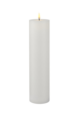 Køb Sirius Sille genopladelig LED bloklys – Ø7,5xH30 cm