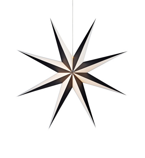 Markslöjd Alva julestjerne m/lys – 75 cm