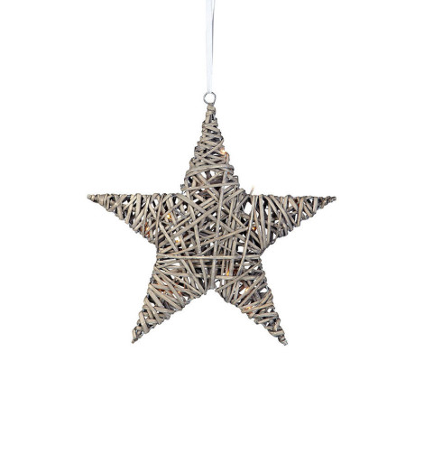 Markslöjd Bodane Deco julestjerne m/lys – 40 cm