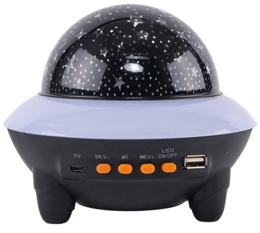 Stjernehimmel projektør m/bluetooth højtaler