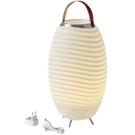 Billede af Kooduu opladelig udendørs vinkøler med lys og højtaler - H71cm