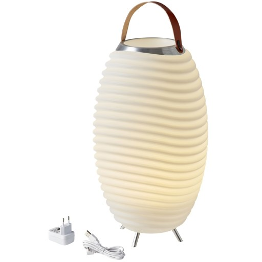 Billede af Kooduu Synergy PRO opladelig vinkøler med lys og højtaler - H71cm