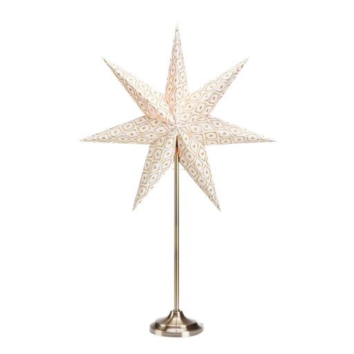 Markslöjd Baroque julestjerne/bordstjerne m/lys – 45 cm
