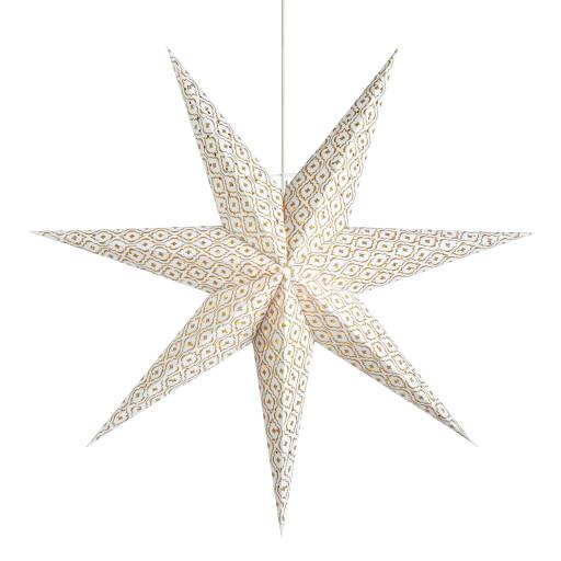 Markslöjd Baroque julestjerne m/lys – 45 cm