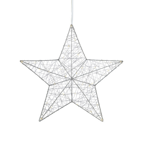 Markslöjd Artur julestjerne m/lys – 50 cm