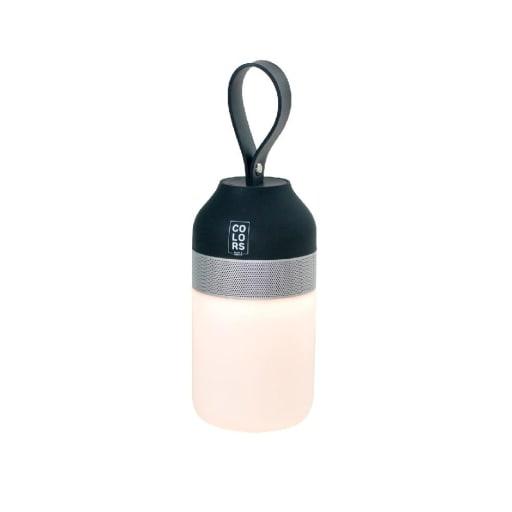The Mini Bluetooth Højtaler med lys-Sort/Sølv