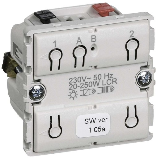 LK IHC Wireless Fuga Universal lysdæmper, 250W, 1 modul, Uden afdækning