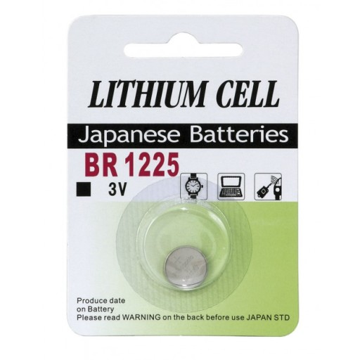 Knapcelle batteri CR1225