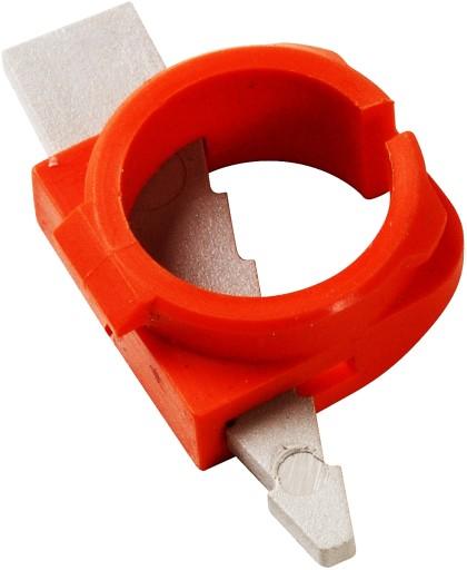 Aflastningsnippel for kabel/rør