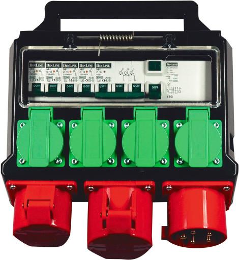 Byggestrømstavle 32A - Model C163JDK
