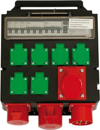 Byggestrømstavle 32A - Model 1990151DK