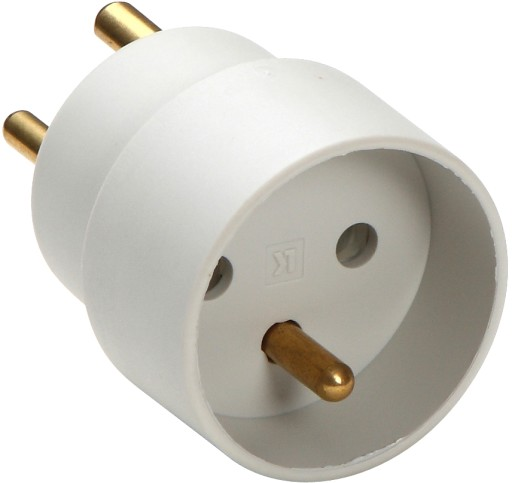 Hybridstikprop - EU stik adapter