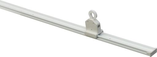 Sun-Line lampeskinne med glidekrog