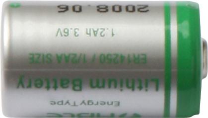 3,6V lithium batteri
