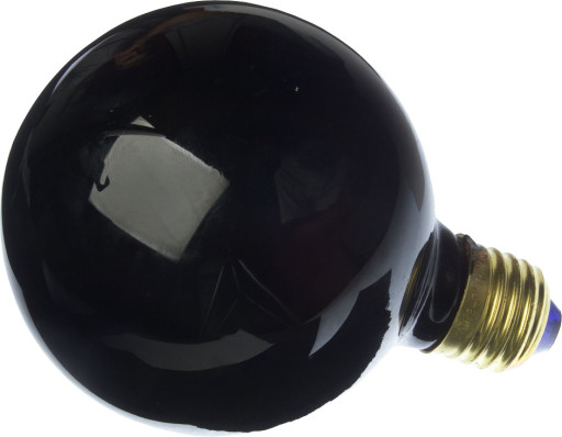 Black & Bluelight Globepære 75W Ø95
