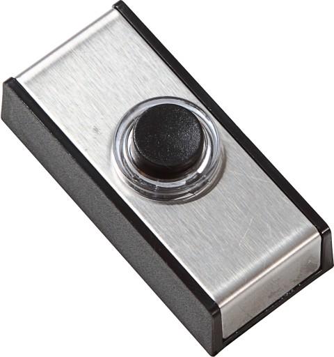 Ringetryk børstet/sort