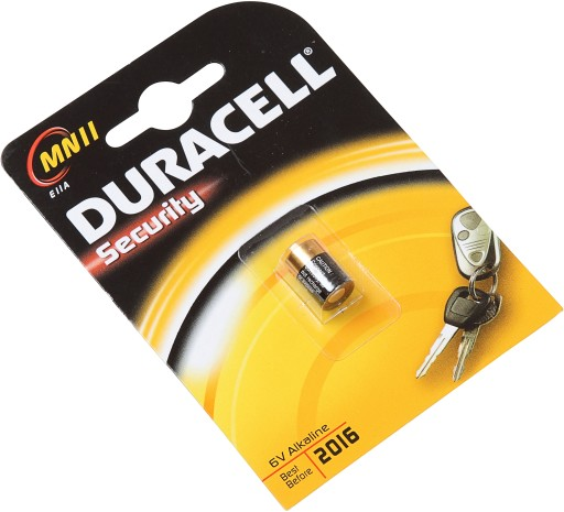 Duracell 6V batteri