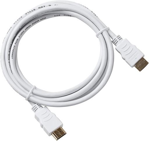 Hvid HDMI kabel