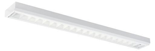Modus kontorarmatur forberedt til 1 x LED rør