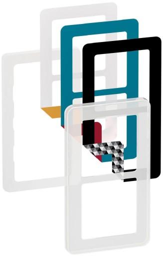 LK Fuga Choice design ramme 2 modul