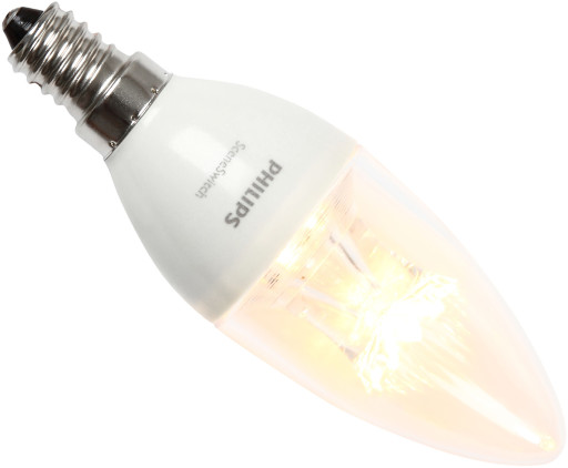 Philips SceneSwitch E14 3-i-1 LED pære 5,5W