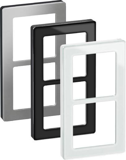 LK Fuga Pure design ramme 2 modul