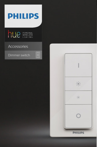 Philips Hue Dimmer Switch trådløs lysdæmper