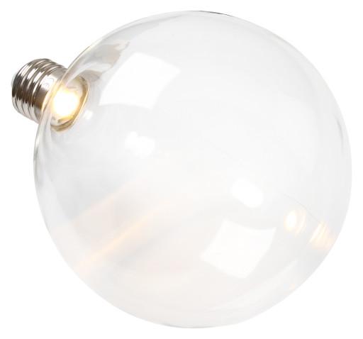 Ghost LED Globepære 2,5W Ø125