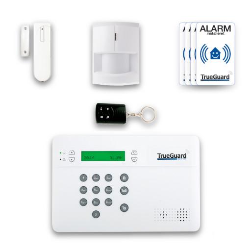 TrueGuard SmartGSM alarmpakke
