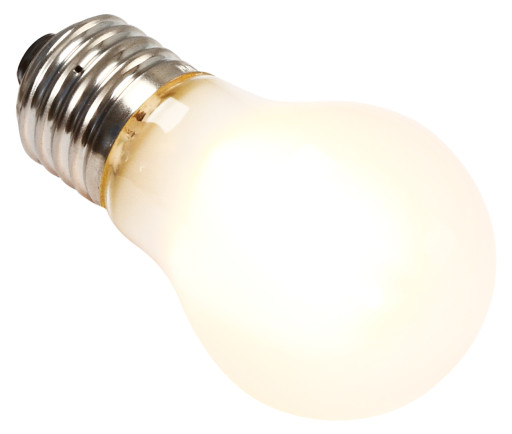 Segula krone LED pære 3,5W mat
