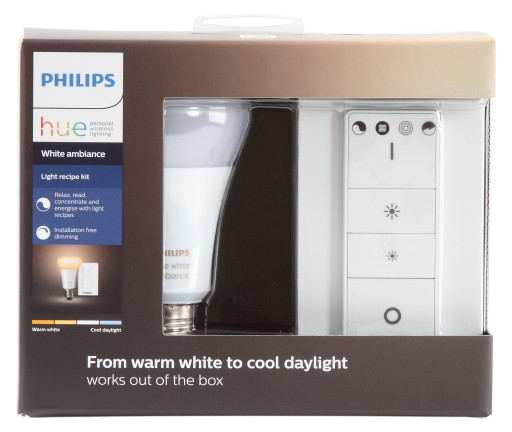 Philips Hue White ambiance med lysdæmper