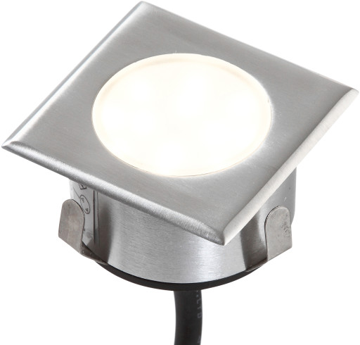 Hortus LED indbygningsspot firkantet 64x64
