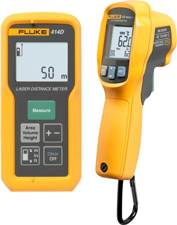 Fluke Laserafstandsmåler & IR termometer sæt