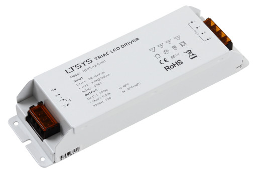 Triac LED driver 12V 75W for kiptryk dæmpning