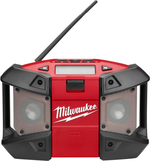 Milwaukee M12 arbejdsradio 230V/batteri