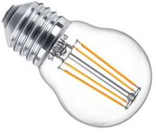 Philips 4,3W E27 klar LED kronepære