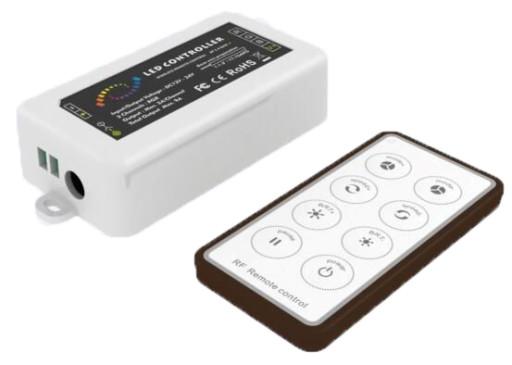 Dioflex Go RF controller til farveskiftende RGB(W) LED bånd