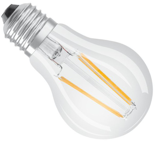 Osram Ra95 E27 klar LED standard pære