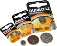 Knapcelle batterier
