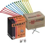 Kabelclips, strips & skruer