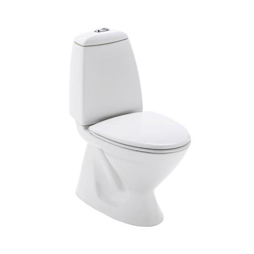 Modernistisk Montering af gulvstående toilet med S-lås JU78