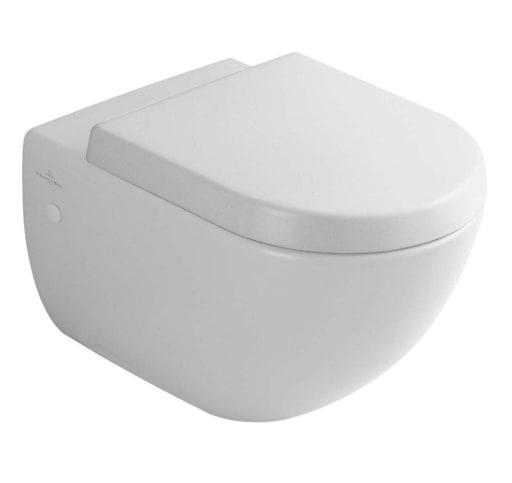 Toilet Villeroy En Boch.Villeroy Boch Subway Vaeghaengt Toilet