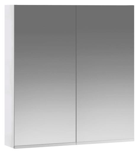 Ifö Spegelskåp OSSN 600x640 mm, Högblank vit