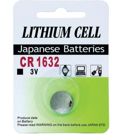 Knapcelle batteri CR1632