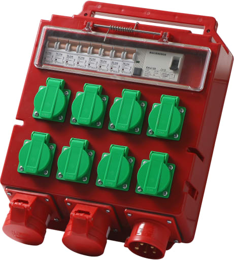 Byggestrømstavle 16A - Model 1990150DK