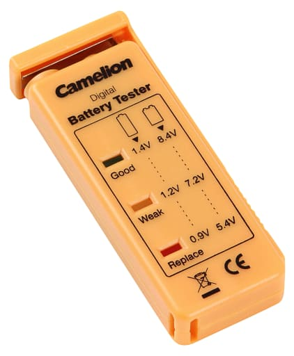 Camelion batteritester