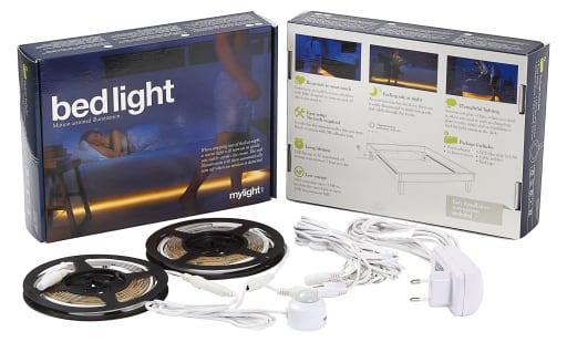 LED bedlight med bevægelsessensor