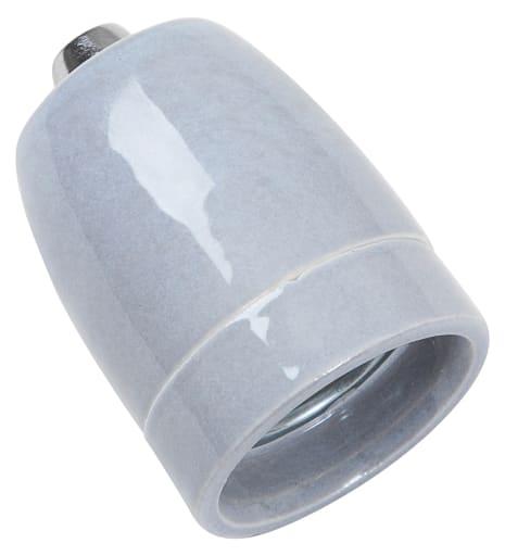 Grå design porcelænsfatning